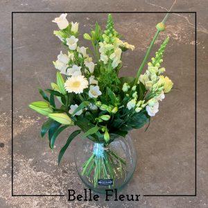 Zomers wit Belle Fleur Bloemen en Planten Zwolle